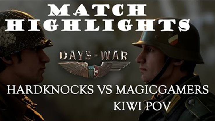 DOW: Highlights HardKnocks vs MagicgaMer
